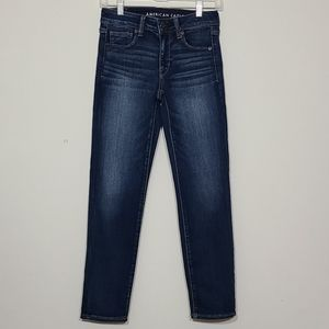 American Eagle Outfitters High Rise Skinny Denim